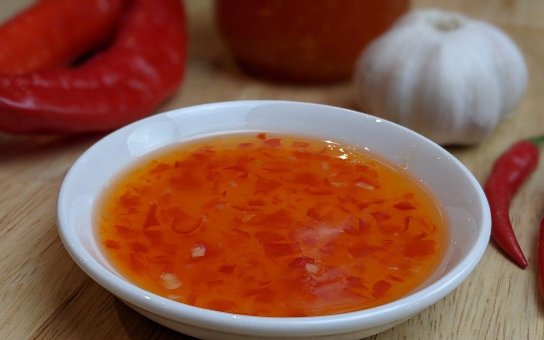 Sauce thaï chili sucrée