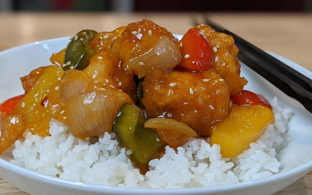 Poisson frit sauce aigre-douce