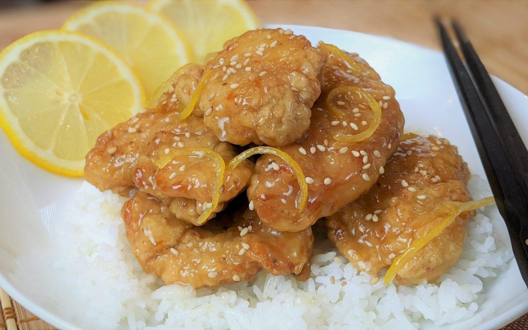 Poulet frit chinois au citron