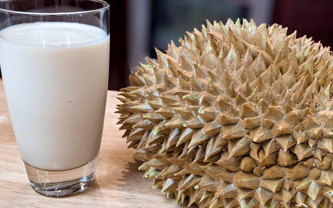 Smoothie au durian