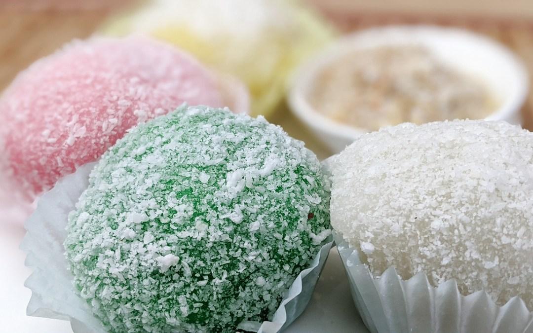 Perles de coco (Snowball cake)
