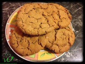 Nougat-Dinkel-Cookies