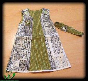 grünes-selbermacher-Kleidchen-Gr-74
