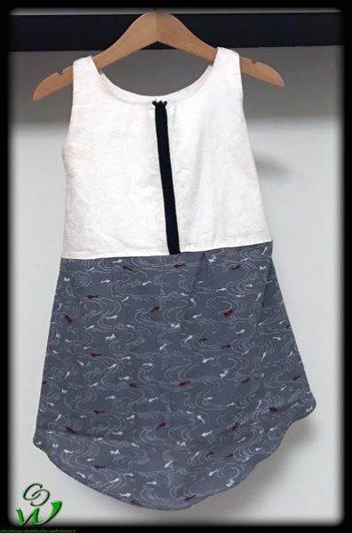 Smilla Kleid Fische Reißverschluss