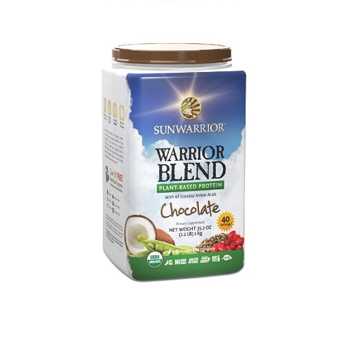SUNWARRIOR Warrior Blend (Vegan Protein) Schokolade