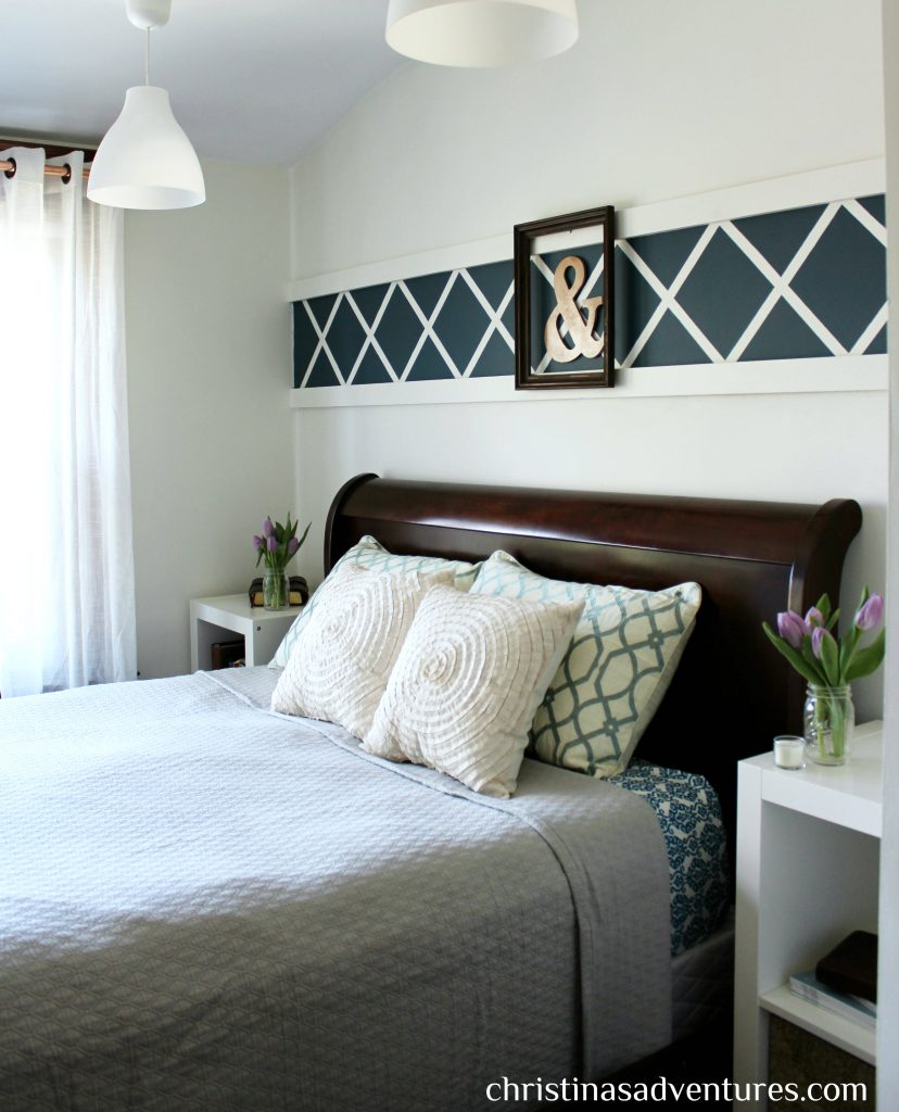 Our Master Bedroom: Above the Bed Decor - Christinas ... on Room Decor Pictures  id=62902