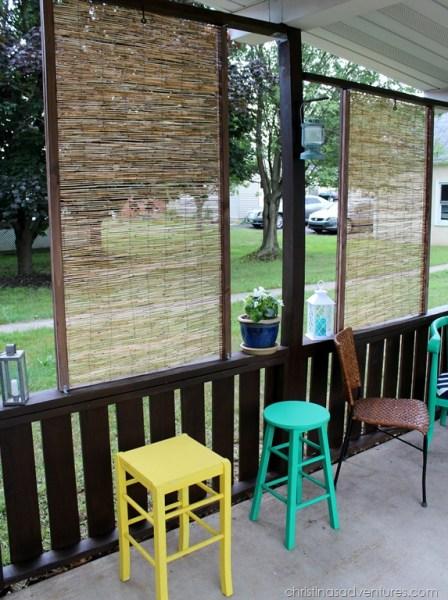 bamboo garden privacy screen DIY Bamboo Privacy Screen - Christinas Adventures