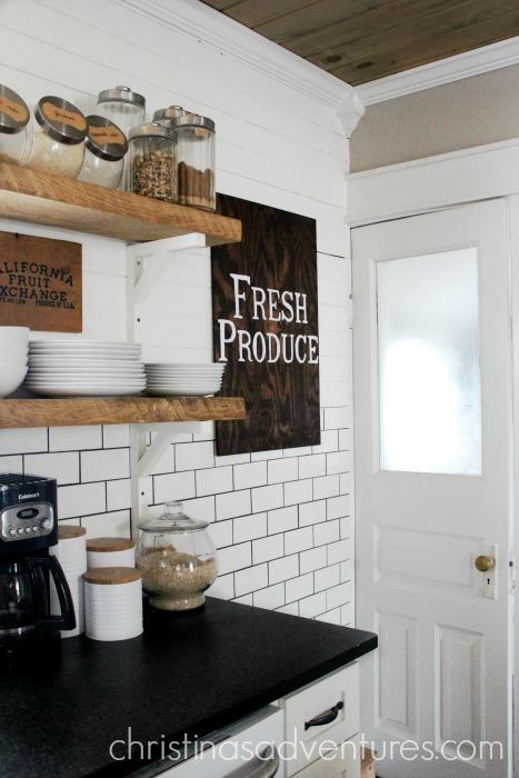 Leathered Granite Counter Tops - Christinas Adventures on Kitchen Farmhouse Granite Countertops  id=78887