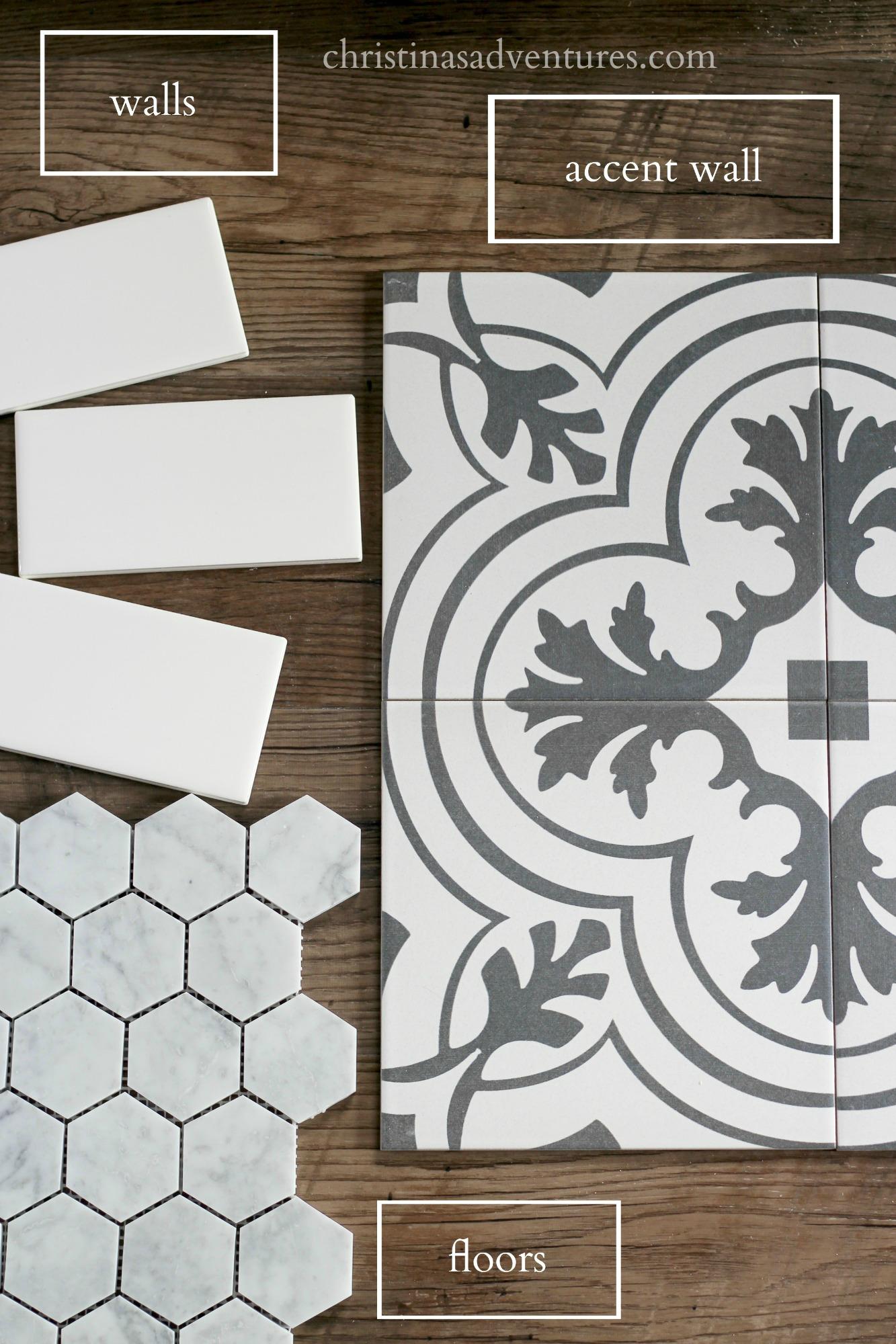 Affordable bathroom tile designs - Christinas Adventures on Bathroom Tile Designs  id=71132