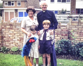 With Stuart and Lorna Lackenby