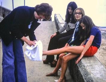 Elspeth, Julie, Jane, Tracy