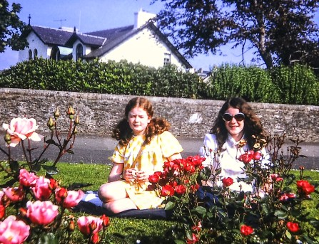 Anabel and Elspeth in Dunoon