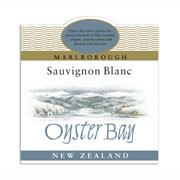 Label of an Oyster Bay Sauvignon Blanc