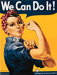 Picture of Rosie the Riveter