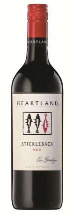 bottle of stickleback red