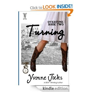 Turning, Book 2 in the Overtime series