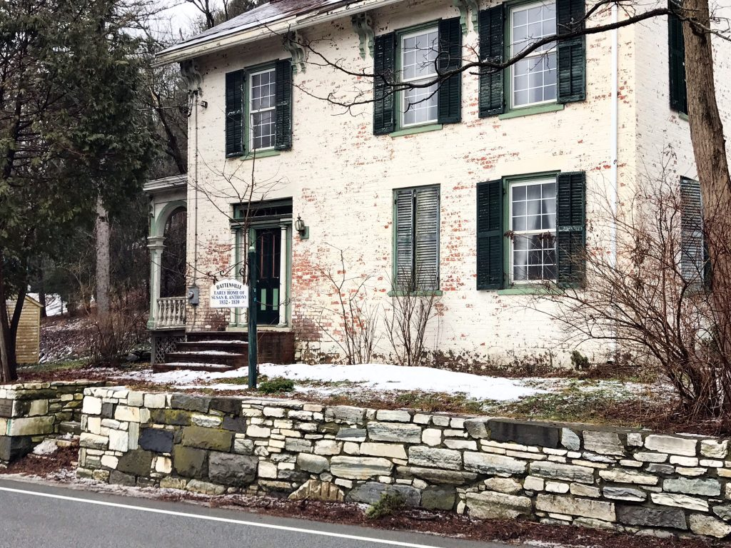 Greenwich Ny Great Rock Street Greenwich Ny Photo With