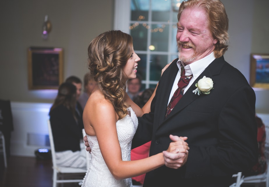 Father/Daughter Dance at a Highlands Country Club Wedding