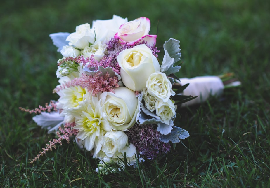 Bride Bouquet at a Highlands Country Club Wedding