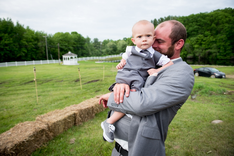 Connecticut Farm Wedding Photo