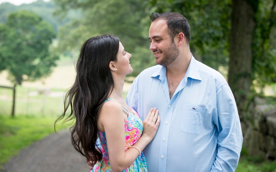 Stone Barns / Rockefeller Preserve Engagement Session – Fatima and Michael