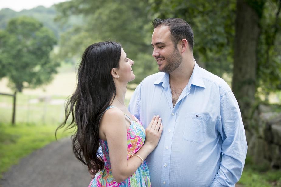 Stone Barns / Rockefeller Preserve Engagement Session – Fatima and Michael