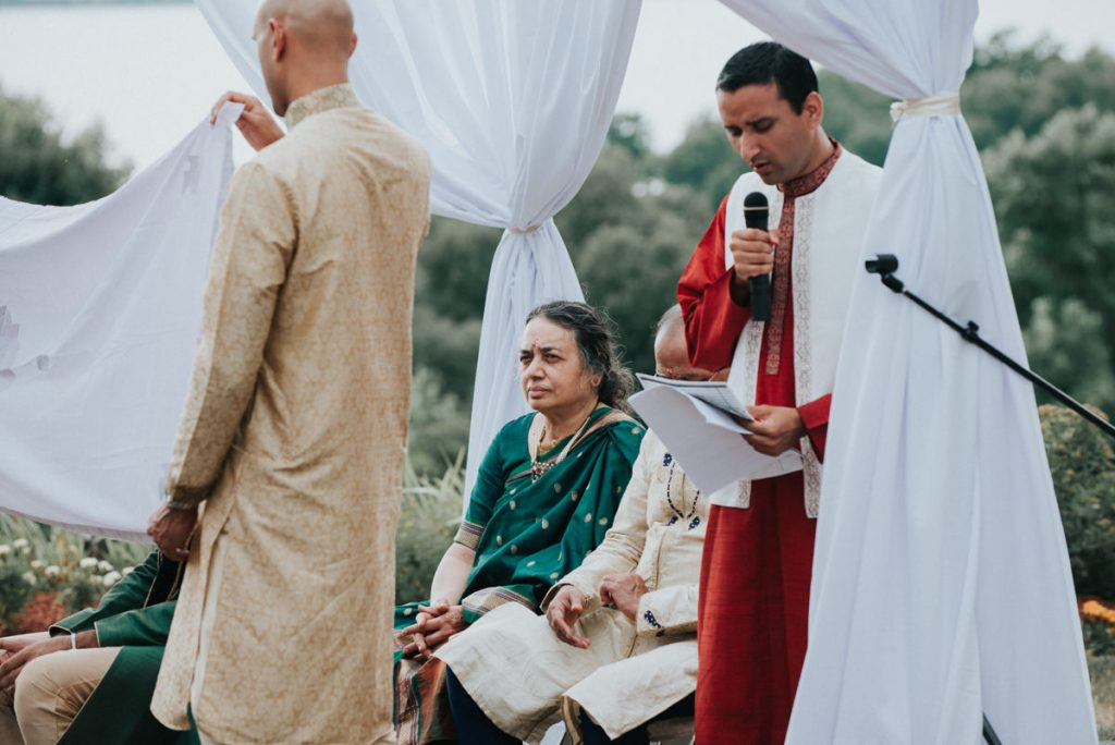Hudson Valley Indian wedding ceremony photographer
