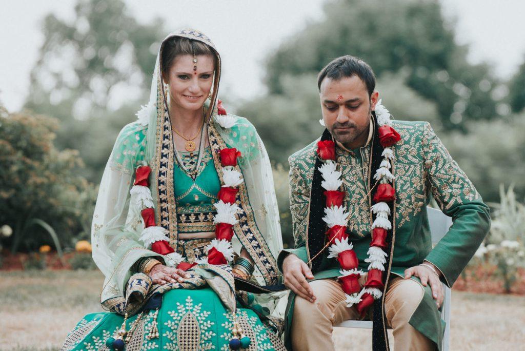 Beacon NY wedding photo of bride and groom at Dutchess Manor