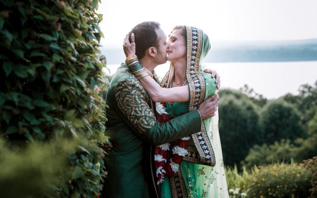 Beacon NY Wedding at Dutchess Manor   Indian Wedding Ceremony