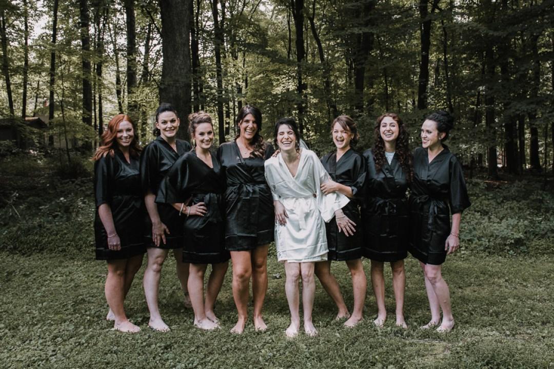 Garrison Wedding, Photos of Bride and bridemaids.