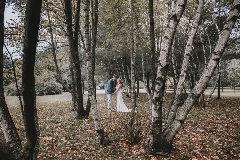 Pine Plains wedding photo of bride and groom