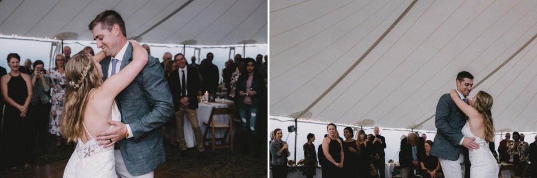 Candid wedding photos at Globe Hill events at Ronnybrook Farm