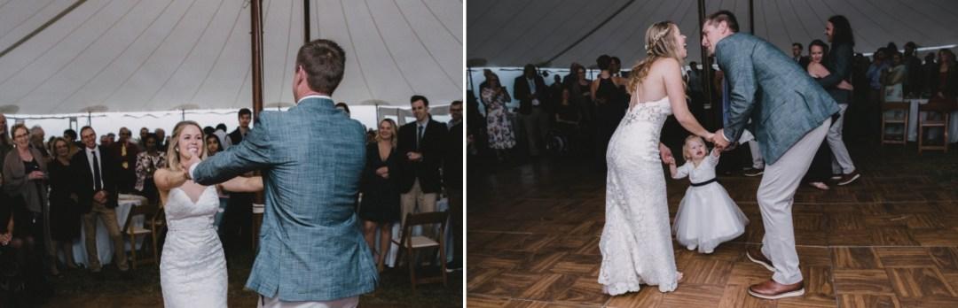 Candid Hudson Valley Wedding photo