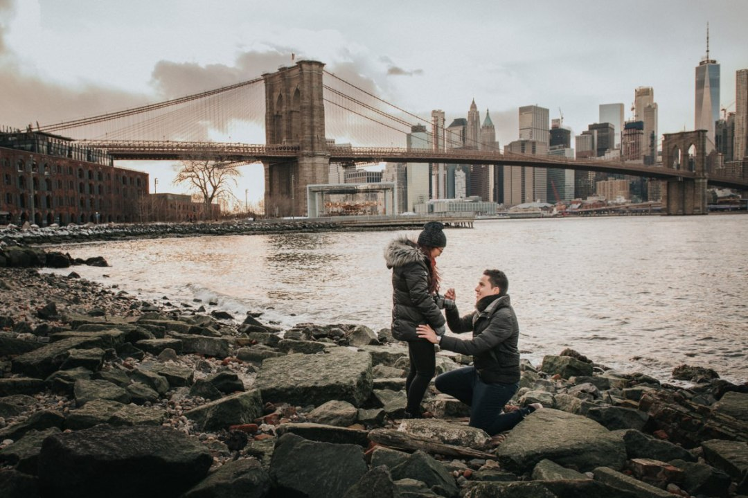 giancarlo blog 3 - Brooklyn Marriage Proposal and Engagement Photography