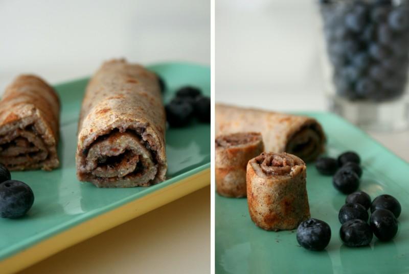 Vegan banana pancakes with sugar free blueberry jelly christinebonde blog