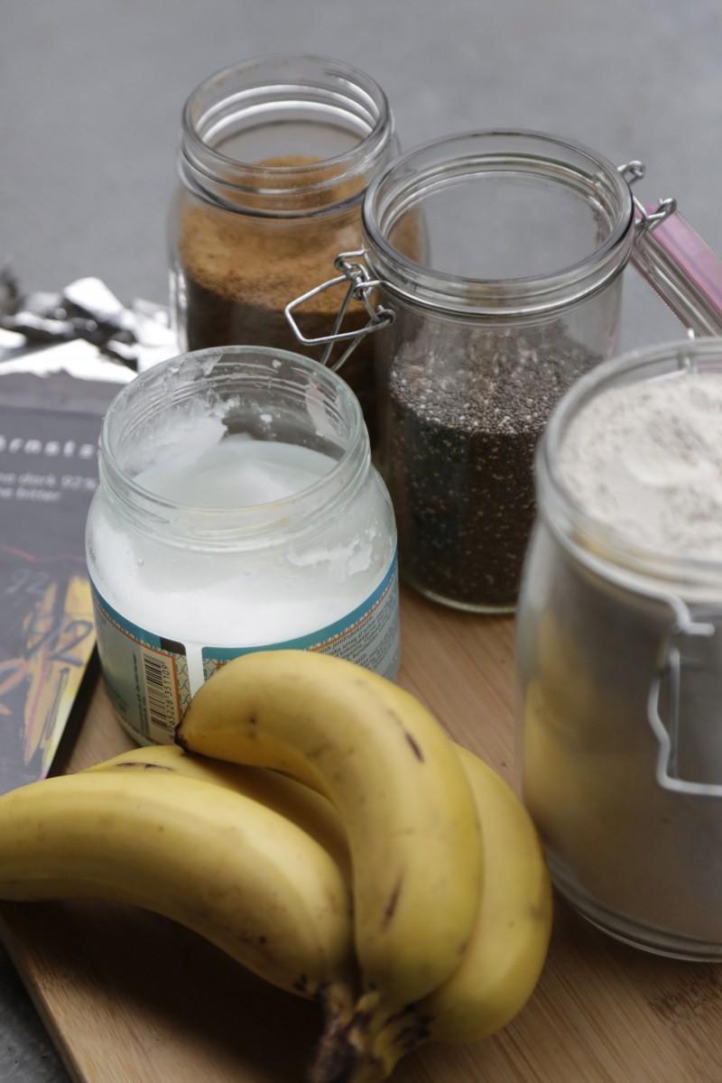 Vegansk banankage