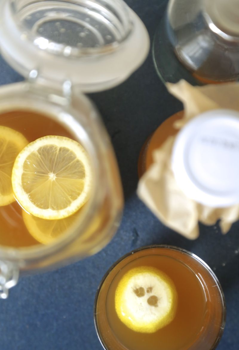Basisopskrift på vandkefir - drikkeklar probiotika2