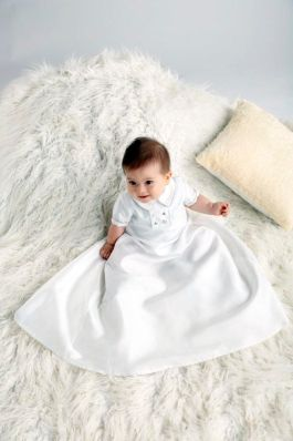 My First Blessing baptismal gown for little boys from SM Babies