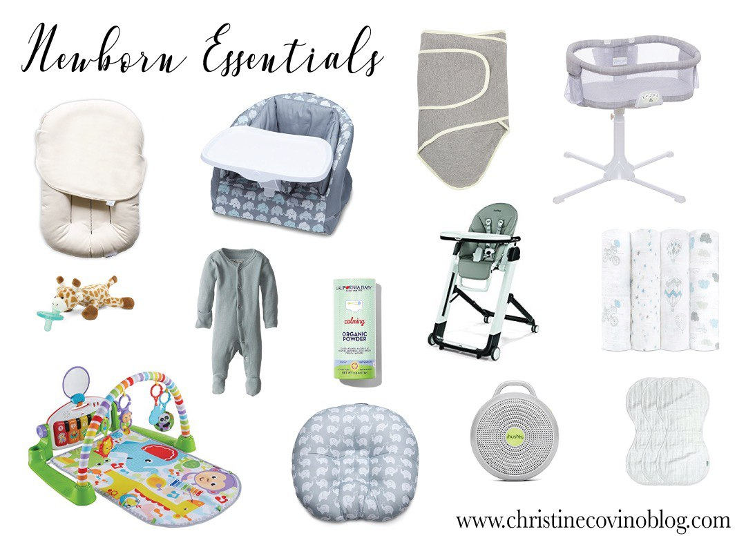 Newborn essentials for surviving the first few months; choosing baby products can be overwhelming so I've broken down my absolute must-haves!