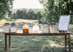 Take a glimpse into our wedding day, complete with personal photos and a vendor list of everyone we used to make our day the best ever!