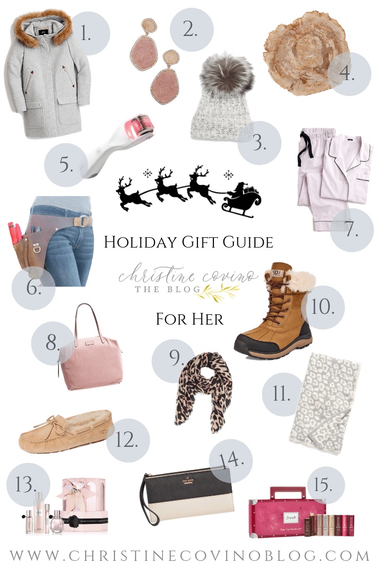 Finding the perfect gift is hard, but it does not have to be! ?Witrh this Holiday Gift Guide For Her you will find just the right gift!