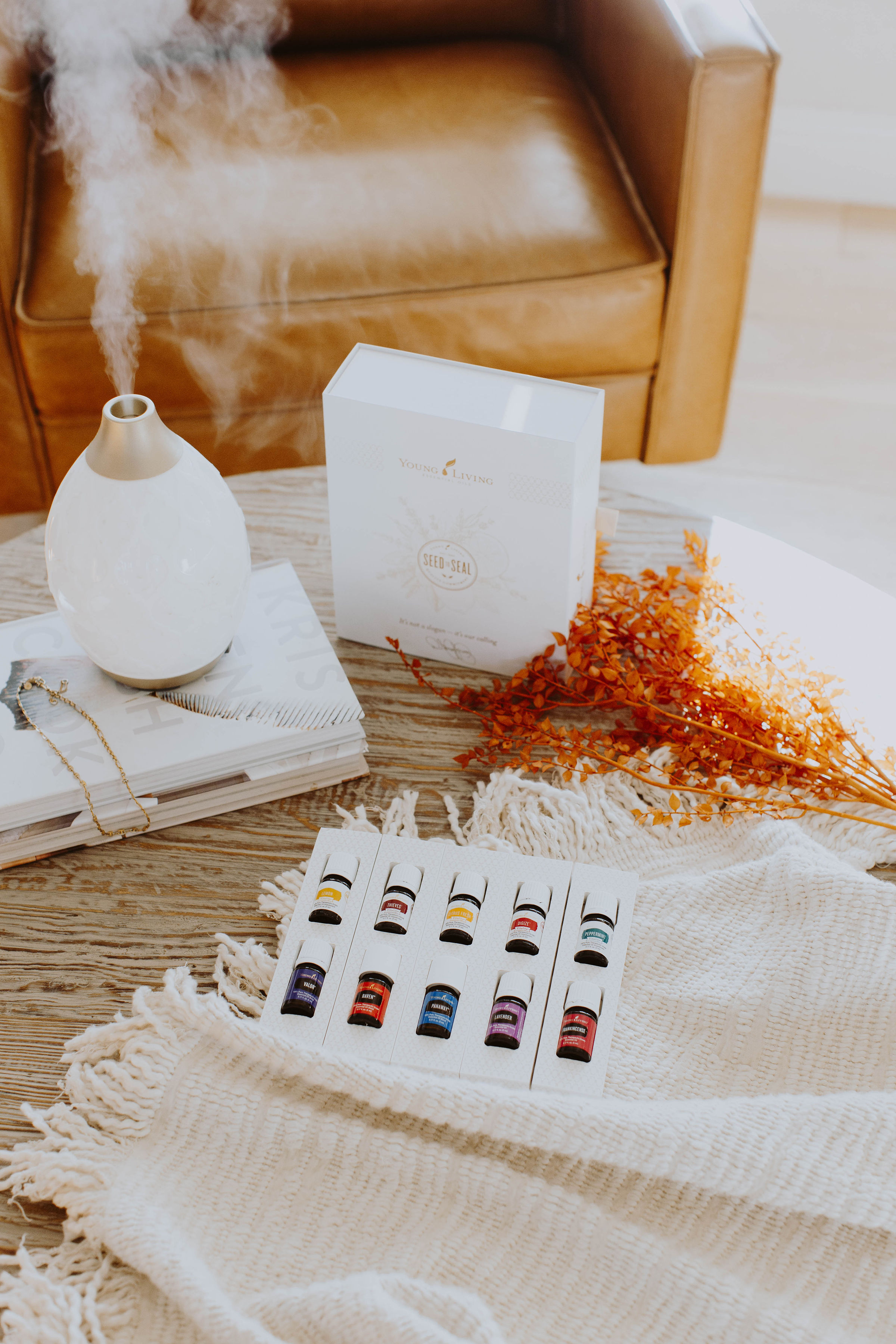 picture of Essential oils when it comes to postpartum must haves