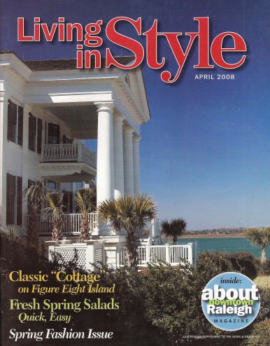 """Grand Proportions,"" Living in Style (April 2008): 28-38 and cover"