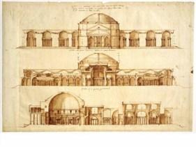 Palladio's study of the Baths of Agrippa