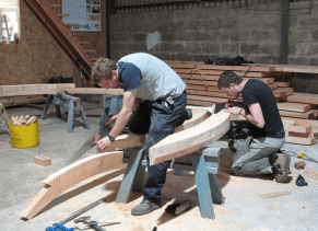 The Prince's Foundation for the Built Environment Building Craft Apprentice program