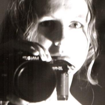 Auto-portrait à 20 ans. Christine Haas
