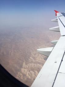 Jordan from the plane