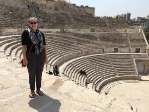 Me at the ancient Roman theater