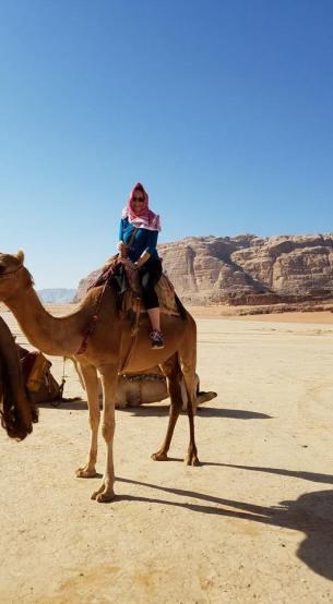 Me on a camel