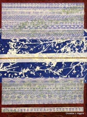 """""""Gold Stripe Tapestry"""""""
